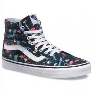 "NWT Vans High Top ""Pool Vibes"""